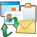 'Outlook per Mail synchronisieren'