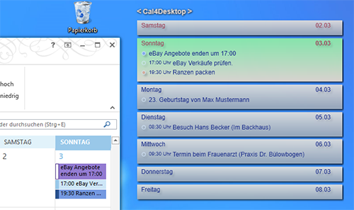 Outlook am Desktop